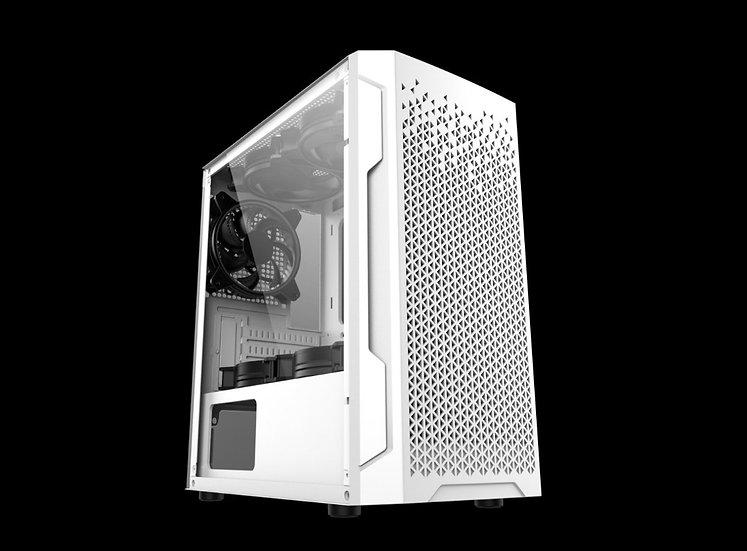 Invasion M-815 MATX (White) Free 3 RGB Fans