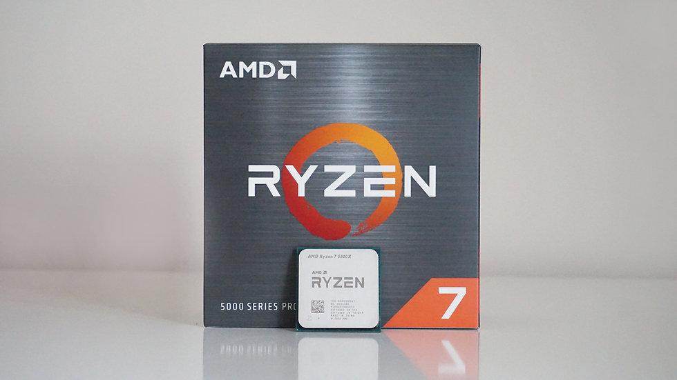 AMD Ryzen™ 7 5800X ( 8 Cores / 16 Threads )