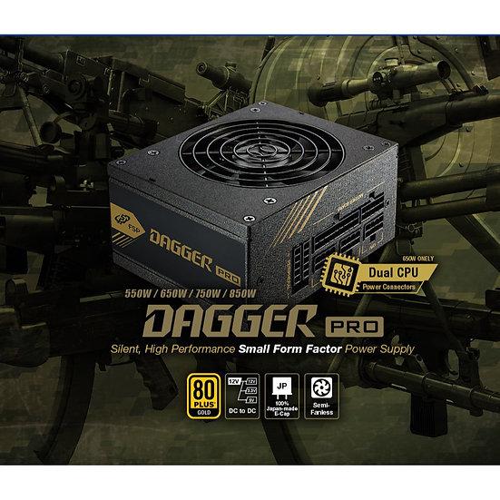 FSP DAGGER 850W PRO 80+ GOLD SFX PSU FULL MODULAR
