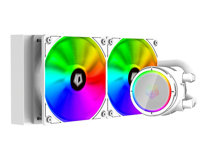 ID-COOLING ZOOMFLOW 240X - SNOW