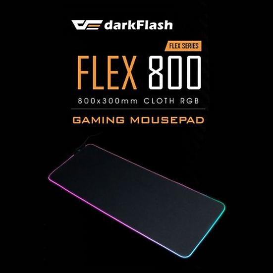 AIGO DARKFLASH FLEX 800 RGB MOUSEPAD 800x300x4MM