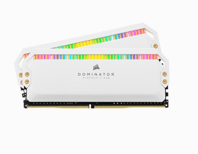 CORSAIR DOMINATOR® PLATINUM RGB 16GB (2 x 8GB) DDR4 DRAM 3200MHz C16 AMD Ryzen M