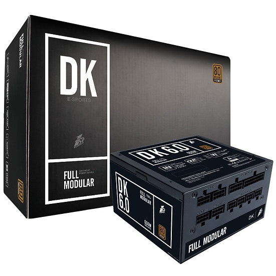 1stPlayer DK6 (600Watt / 80 Bronze / Full Modular)