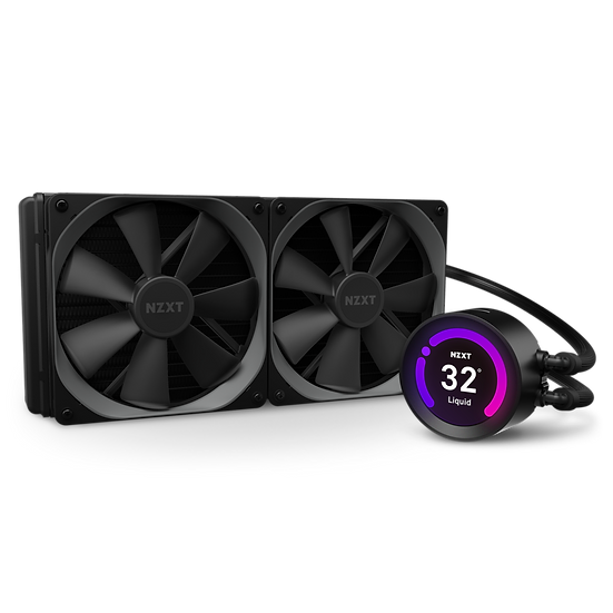 "NZXT Kraken Z63 - 280mm AIO Liquid Cooler with 2.36"" Display"
