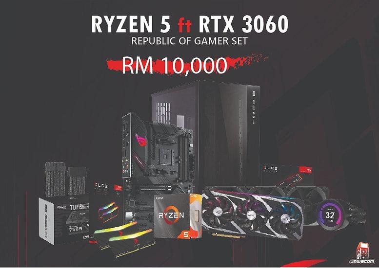RYZEN 5 5600X ft RTX 3060 STRIX