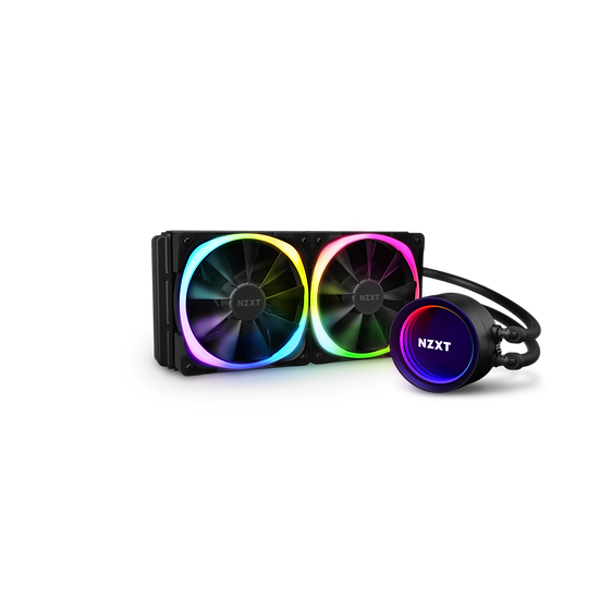 NZXT Kraken X53 RGB - AIO Liquid Cooler With Aer RGB and RGB LED