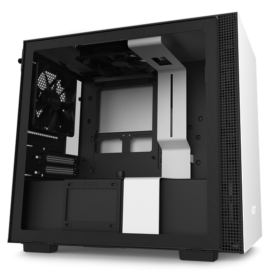 NZXT H210 - MATTE WHITE / BLACK (ITX CASING)