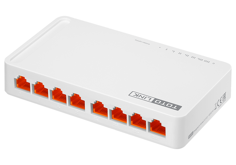 TOTOLINK 8-PORT GIGABIT DEKSTOP SWITCH 1GBPS ( S808G )