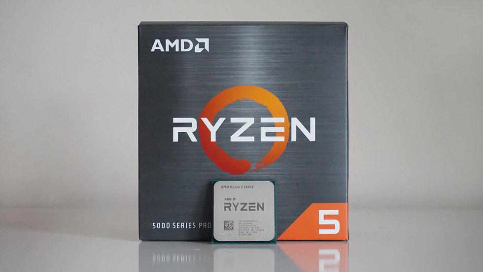 AMD Ryzen™ 5 5600X up to 4.6GHz ( 6 Cores / 12 Threads )