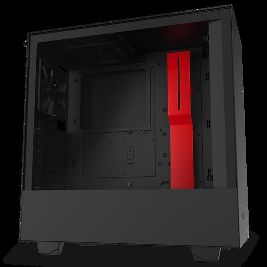 NZXT H510 -MATTE BLACK / RED