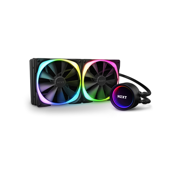 NZXT Kraken X63 RGB - AIO Liquid Cooler With Aer RGB and RGB LED