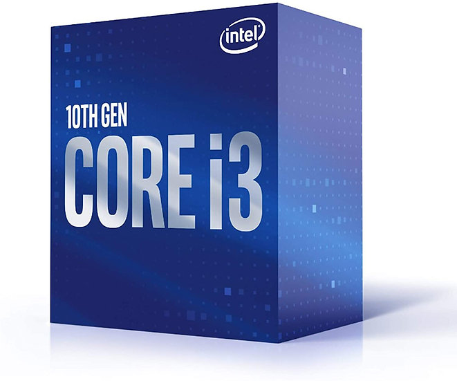 Intel® Core™ i3-10100 @ 3.6Ghz ( 4 Cores / 8 Threads )