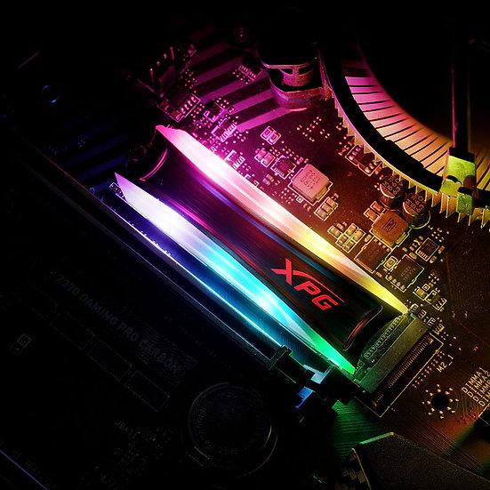 XPG SPECTRIX S40G RGB 51GB PCIe Gen3x4 M.2 2280