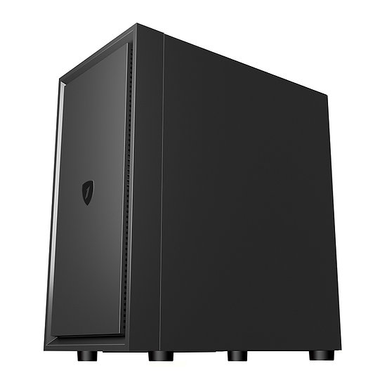 1stPlayer Black Sir B5-M ( Free 3 Black Fans )