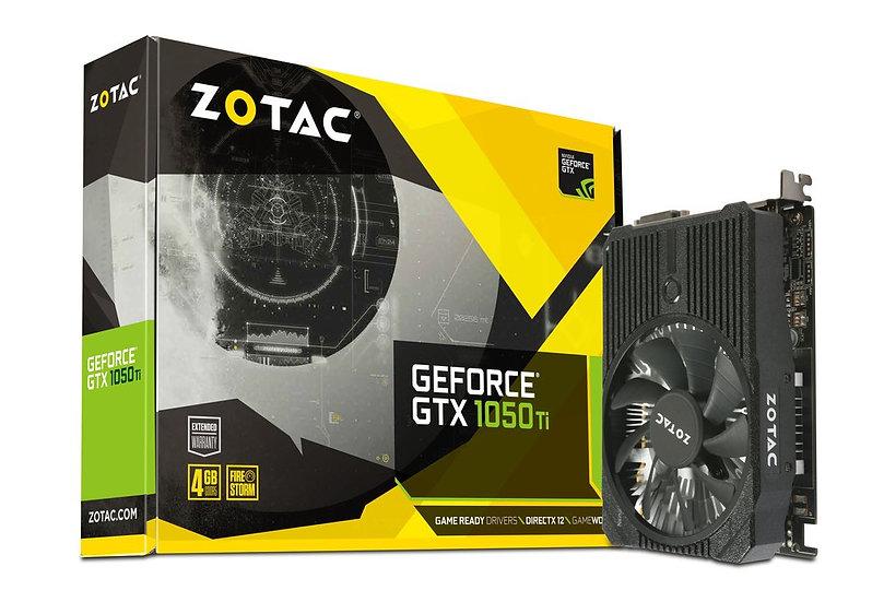 ZOTAC GeForce® GTX 1050 Ti Mini 4GB GDDR5