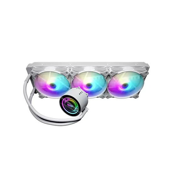 Aigo DarkFlash Twister DX360 aRGB 360MM AIO Liquid Cpu Cooler - White