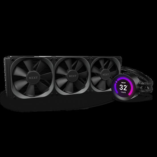 """Kraken Z73 - 360mm AIO Liquid Cooler with 2.36"""" Display"""