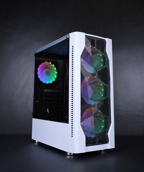 1stPlayer DK-D4 (WHITE) Free 4 RGB Fans