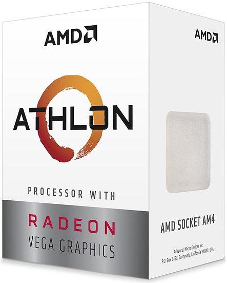AMD Athlon 200GE ( 2 Cores / 4 Threads)