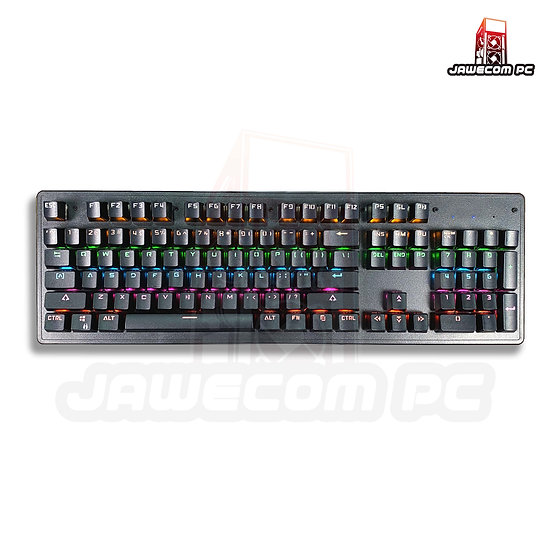 Leaven K880 RGB Mechanical Keyboard - Outemu Blue Switch ( Black)