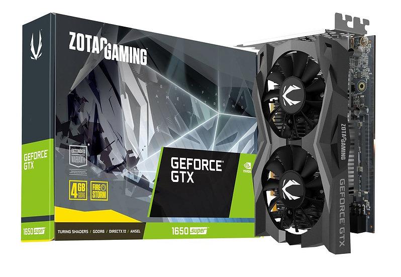 ZOTAC GAMING GeForce GTX 1650 SUPER TWIN FAN 4GB GDDR6