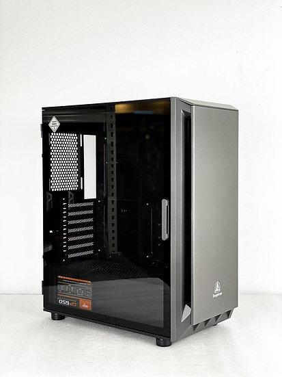 Segotep Gank-5 ATX (Black) Free 3 RGB Fans