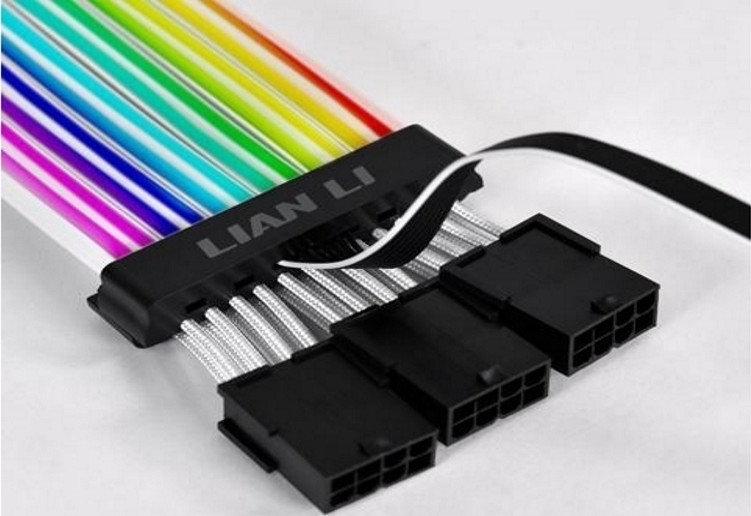 LIAN LI STRIMER PLUS 8PIN A-RGB 30CM CABLE