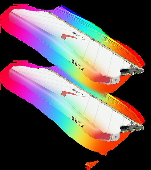 PNY XLR8 Gaming EPIC-X RGB 16GB DDR4 3600MHz (8GBx2) - WHITE