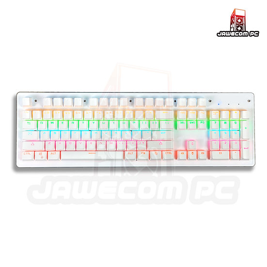 Leaven K880 RGB Mechanical Keyboard - Outemu Blue Switch ( White )