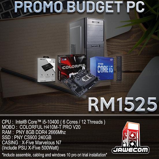 PROMO BUDGET PC