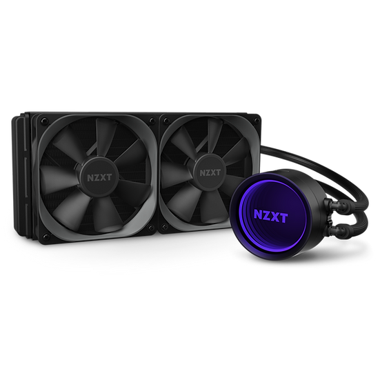 NZXT KRAKEN X53 - 240mm AIO Liquid Cooler with RGB LED