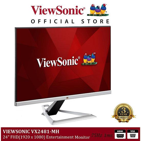 "VIEWSONIC VX2481-MH ( 24"" / IPS Panel / 75Hz )"