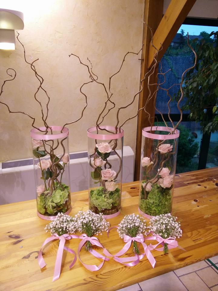 Vases tube Moyens