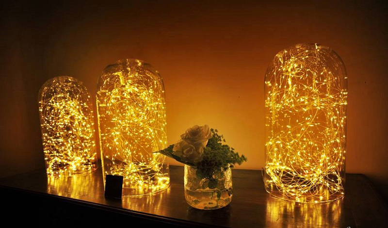 Cloches et gurilandes Led