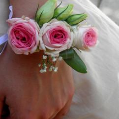 Bracelet fleuri