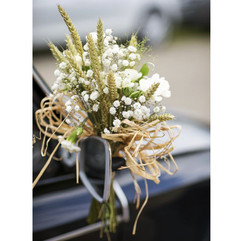 Poignée de la voiture des mariés