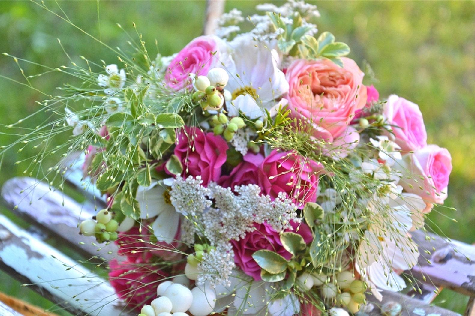 bouquet de fleurs mariage champetre wn92 jornalagora. Black Bedroom Furniture Sets. Home Design Ideas