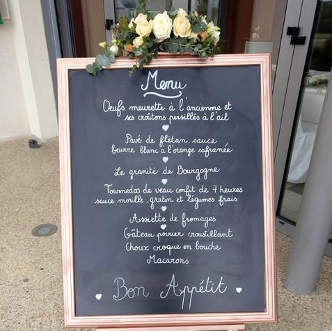 Fleurir le menu