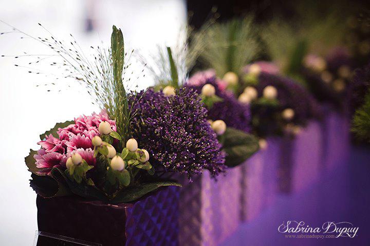 decoration de table,mariage,N13 fleuriste,yonne