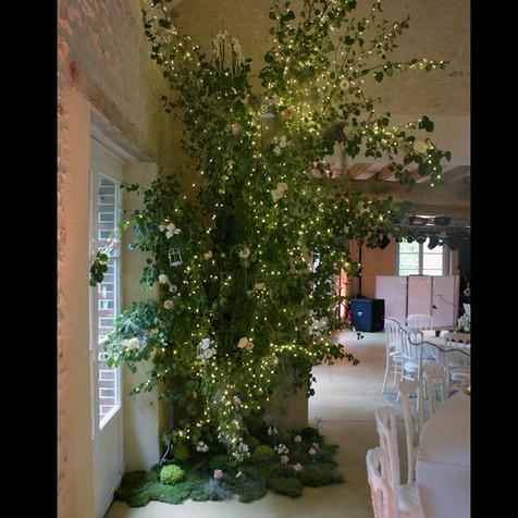 Création d'un arbre lumineux