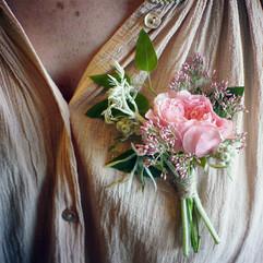Boutonniere mariage champetre