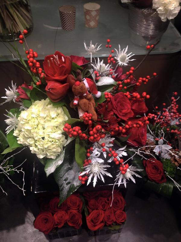 bouquet,noel,fleurs,auxerre,yonne