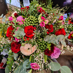 Bouquet de fleurs variées
