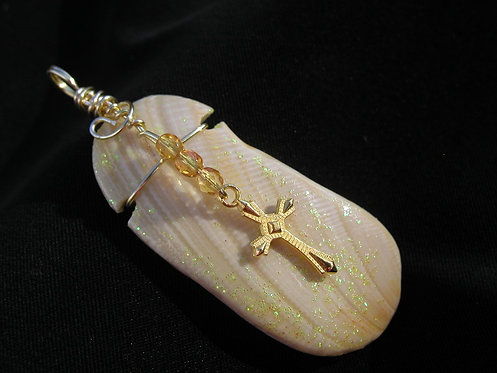 Shell Pendant from the Ugly Duckling Collection
