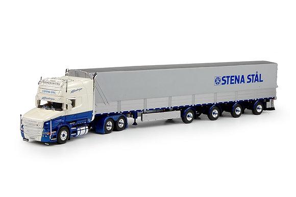 Runeborgs: Scania T6-serie Topline with 4 axle Swedish tilt semitrailer