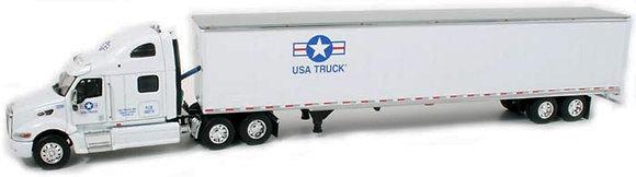 USA Truck - Peterbilt 387 Sleeper Truck & Container