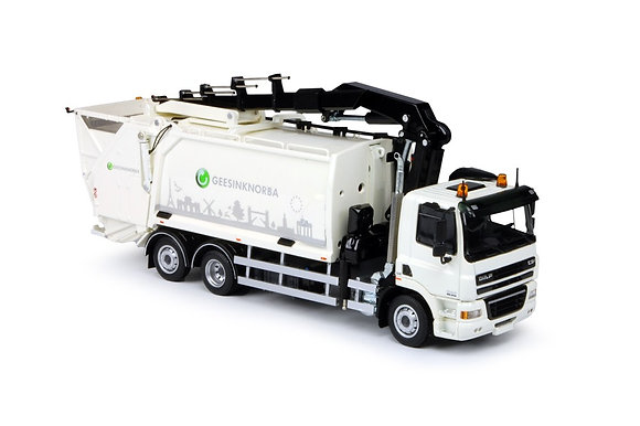 Geesink Norba -DAF CF85 trash truck funnel / crane