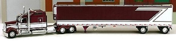 Owner Operator Kenworth W900L & Reefer Trailer