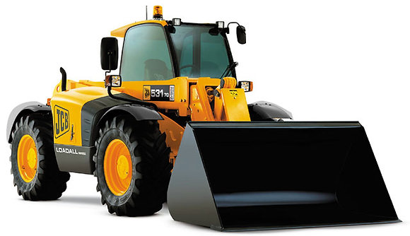 JCB 531-70 Loadall with Bucket
