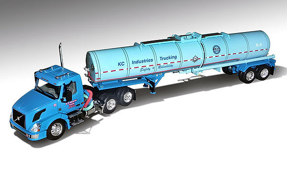 KCI Trucking - Volvo VNL300 Day Cab with Brenner Chemical Tanker
